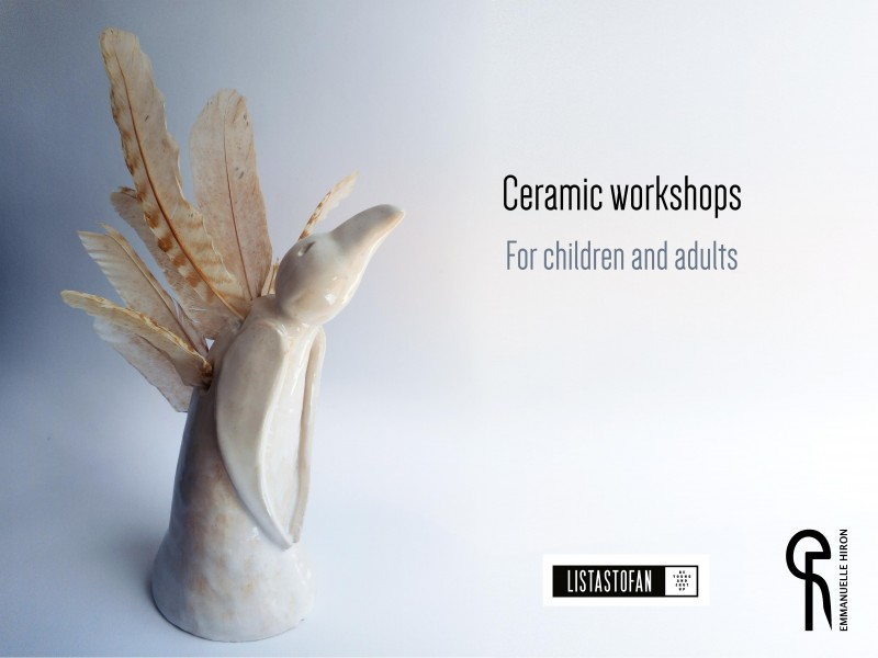 Ceramic workshops @Listastofan