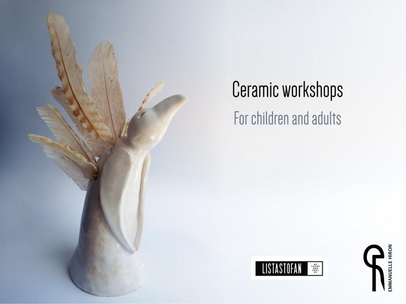 Ceramic workshops @Listastofan